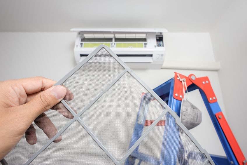 klima hava filtresi temizliği